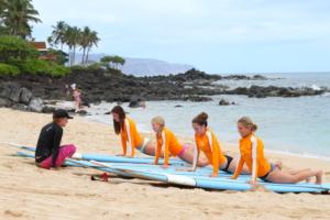 Best Surf Lessons North Shore Oahu